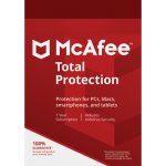 McAfee Total Protection - 1 Device, 1 Year (Download)