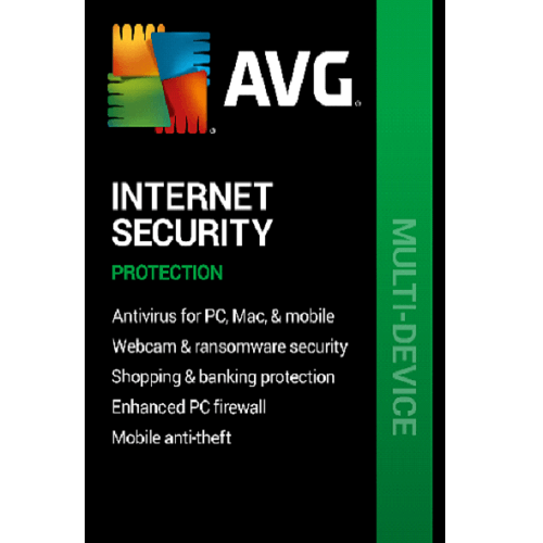 AVG Internet Security - 2 Year, 10 Devices (Download)