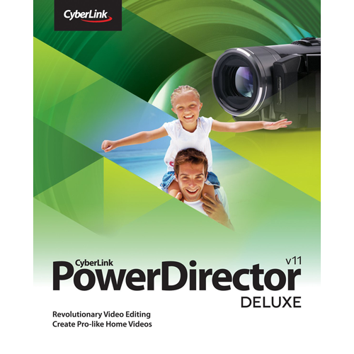 CyberLink PowerDirector 11 Deluxe - 1 PC (Download)