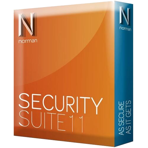 Norman Security Suite 11 - 3 PC, 1 Year (becomes AVG Internet Security) [Download]