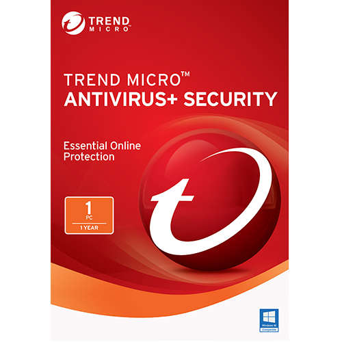 Trend Micro Antivirus+ - 1 PC, 1 Year (Download)