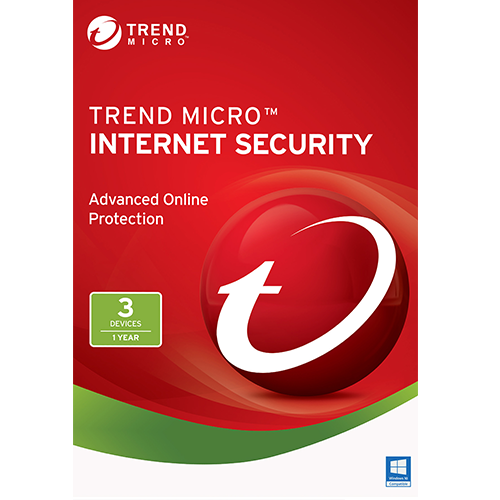 Trend Micro Internet Security - 3 PC, 1 Year (Download)