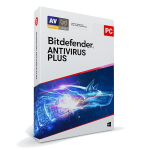 Bitdefender Antivirus Plus - 3 PC, 1 Year (Download)