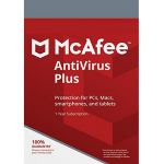 McAfee Antivirus Plus -  1 Year, Unlimited Devices (Download)