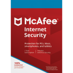 McAfee Internet Security - 3 Devices, 1 Year (Download)