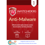 Watchdog Anti-Malware - 1 PC, 1 Year (Download)